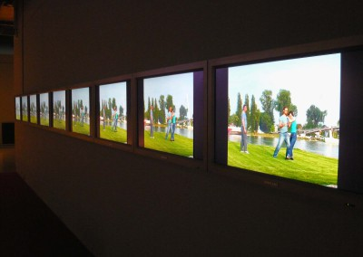 Les neuf écrans